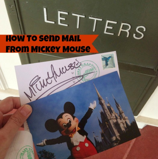 How to Send Mail from Mickey Mouse