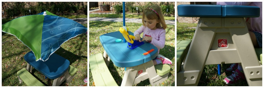 Step2 Review Sit & Play Picnic Table Collage