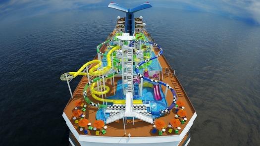 Carnival Cruise Sunshine Rendering