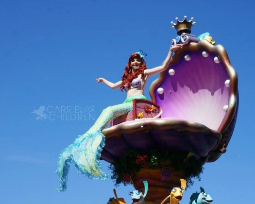 Wordless Wednesday July 30 Ariel Under the Sea