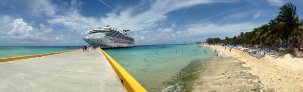 Grand Turk Carnival Freedom Panoramic Picture Resized
