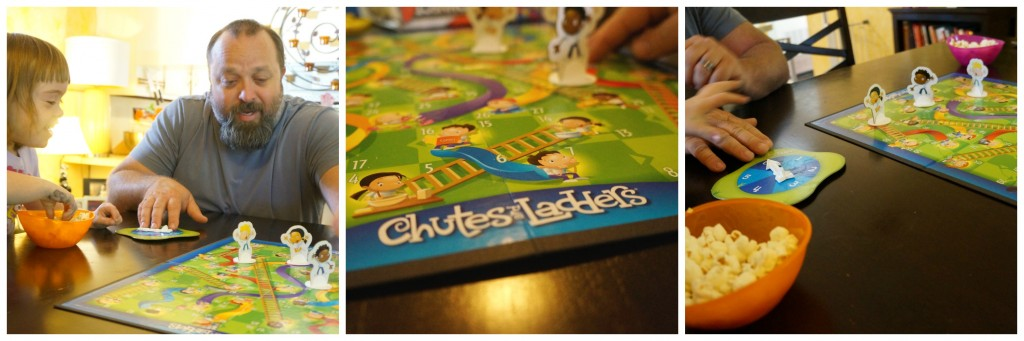 Chutes and Ladders Hasbro Game Night Collage