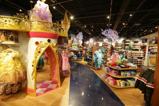 Disney Store New Look