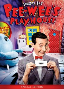 Pee-wee's Playhouse Season One and Two DVD set
