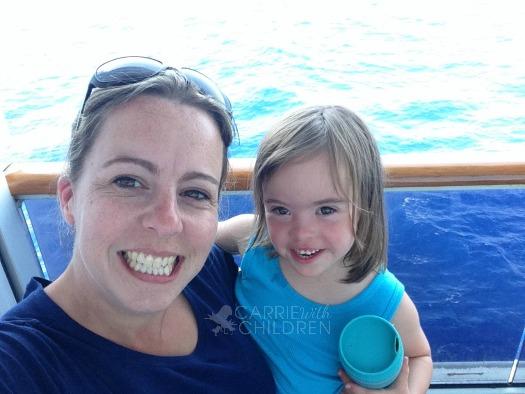 Molly and Mom Cruising