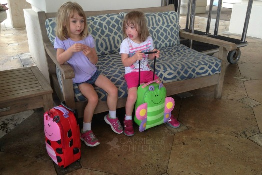 Suitcases and Packing for Vacation