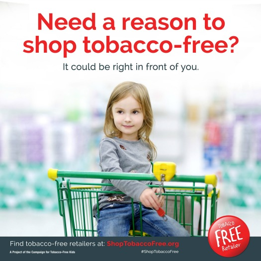 Shop Tobacco Free Graphic