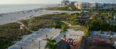 View from Guy Harvey Outpost, Tradewinds in St. Pete Beach