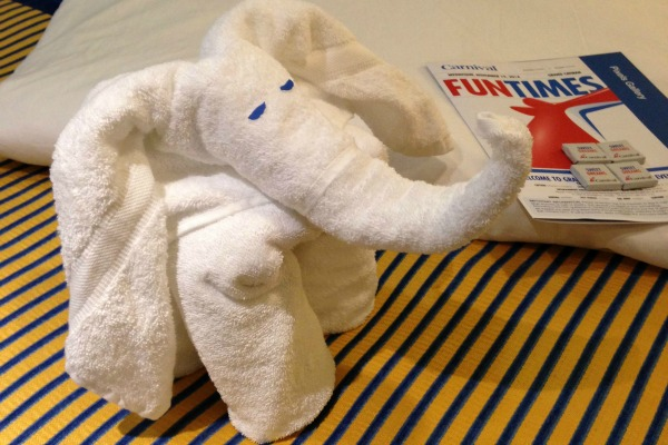 Carnival Towel Animal Elephant