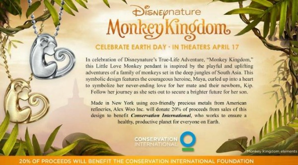 Monkey Kingdom Necklace Giveaway
