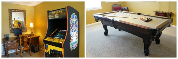 All Star Vacation Homes Game Room Collage