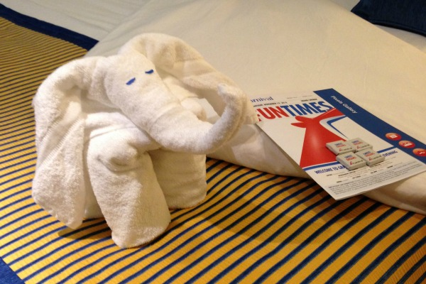 Carnival Towel Animal Elephant 2