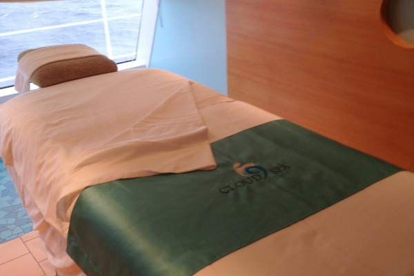 Carnival Breeze Cloud 9 Spa Treatment